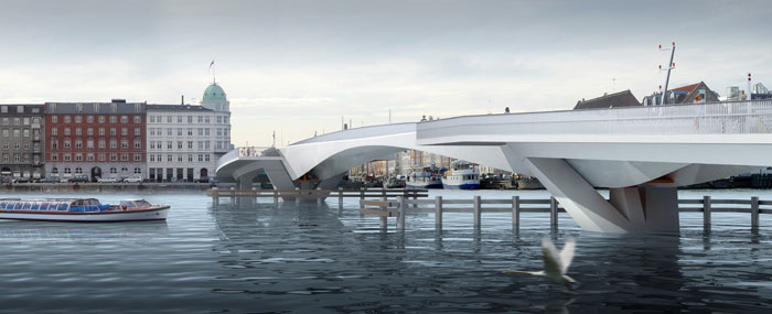 INDERHAVNEN BRIDGE, COPENHAGEN