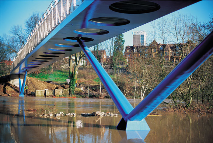 Blue Millenium Beam Bridge